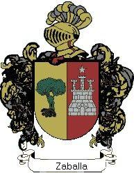 Escudo del apellido Zaballa