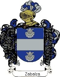 Escudo del apellido Zabalza