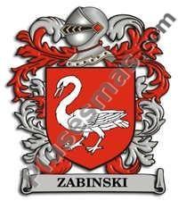 Escudo del apellido Zabinski