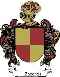 Escudo del apellido Zacarias