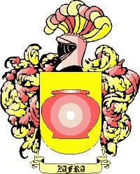 Escudo del apellido Zafra