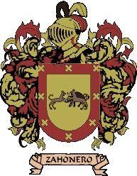 Escudo del apellido Zahoner