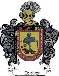 Escudo del apellido Zaldivar
