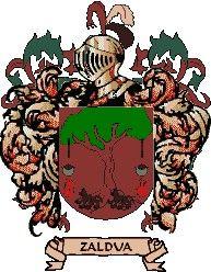 Escudo del apellido Zaldua