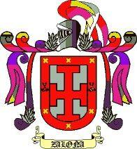 Escudo del apellido Zaloña