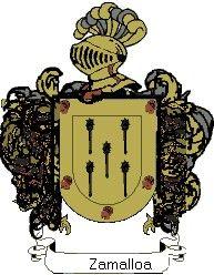 Escudo del apellido Zamalloa