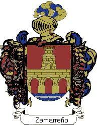Escudo del apellido Zamarreño