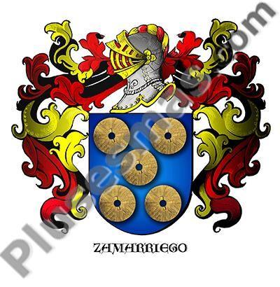 Escudo del apellido Zamarriego