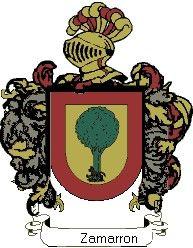 Escudo del apellido Zamarron