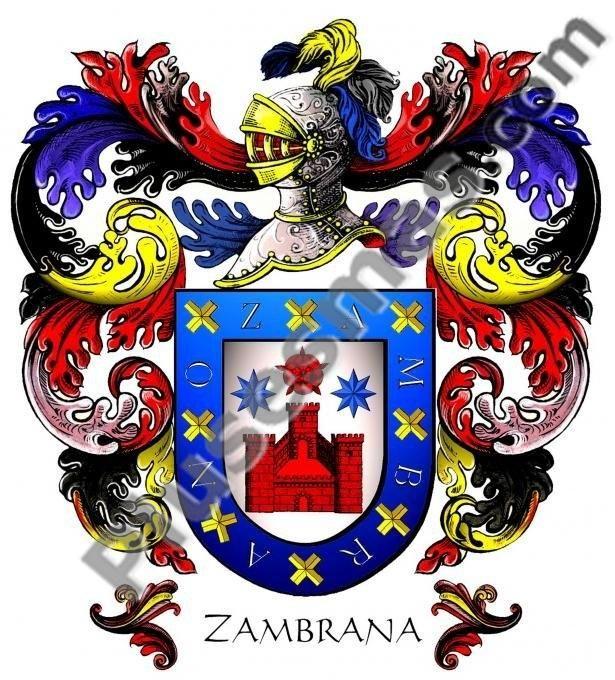 Escudo del apellido Zambrana