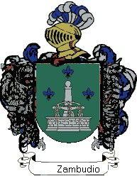 Escudo del apellido Zambudio