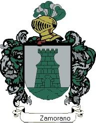 Escudo del apellido Zamorano