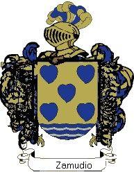 Escudo del apellido Zamudio