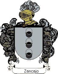 Escudo del apellido Zancajo