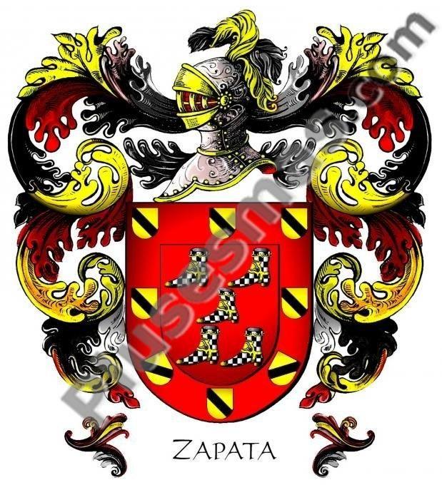 Escudo del apellido Zapata