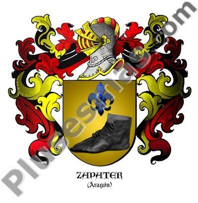 Escudo del apellido Zapater