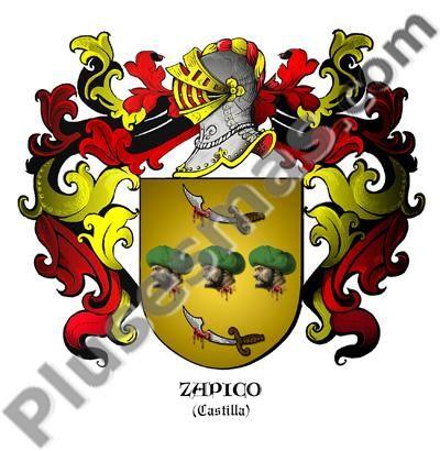 Escudo del apellido Zapico