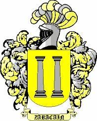 Escudo del apellido Zaracain