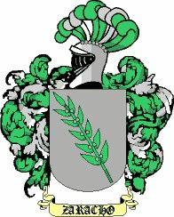 Escudo del apellido Zaracho