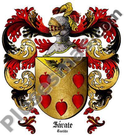 Escudo del apellido Zarate