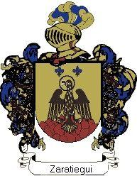 Escudo del apellido Zaratiegui