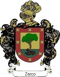 Escudo del apellido Zarco