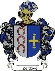 Escudo del apellido Zardoya