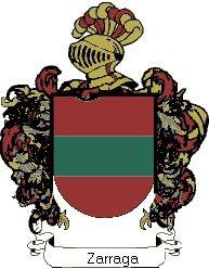 Escudo del apellido Zarraga