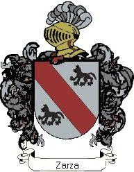 Escudo del apellido Zarza