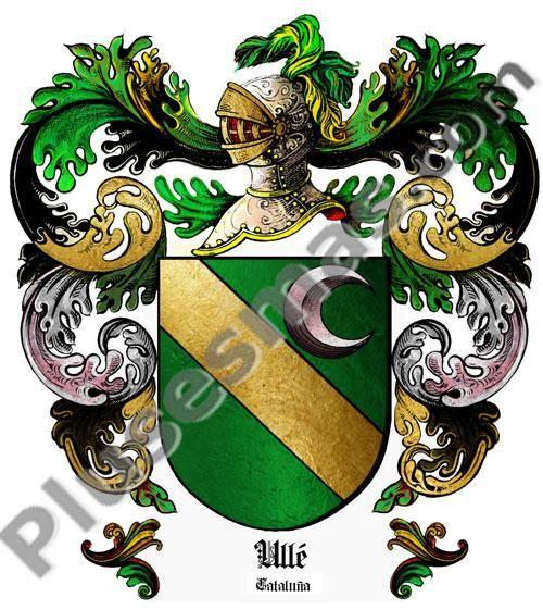Escudo del apellido Ullé