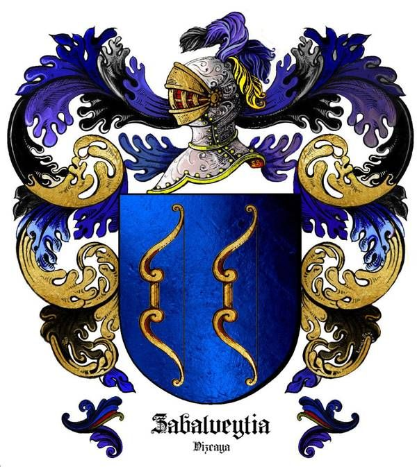 Escudo del apellido ZABALVEYTIA