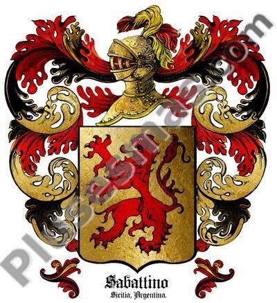 Escudo del apellido Sabattini