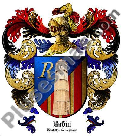 Escudo del apellido Radiu