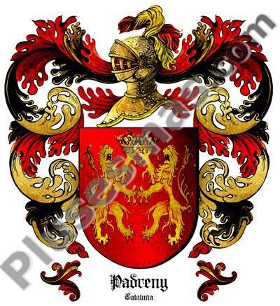 Escudo del apellido Padreny