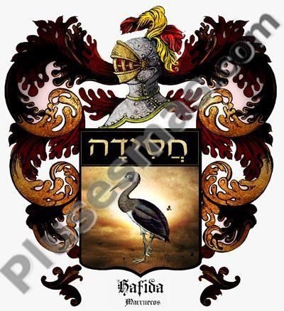 Escudo del apellido Hafida