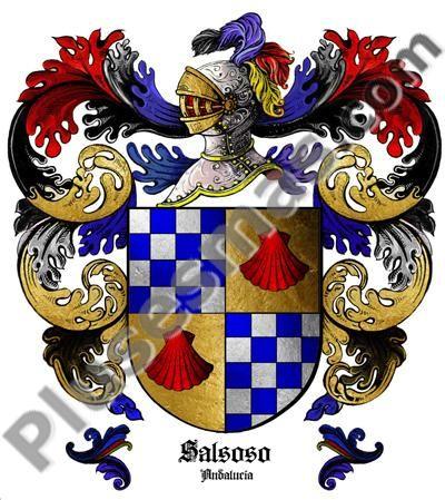 Escudo del apellido Salsolo