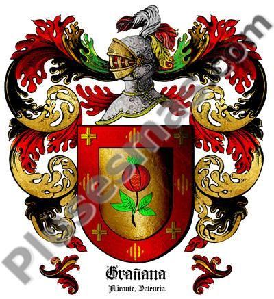 Escudo del apellido Grañana