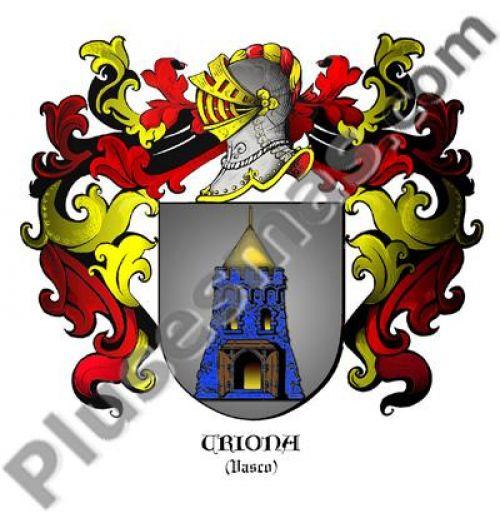 Escudo del apellido Uriona