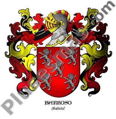 Escudo del apellido Barroso