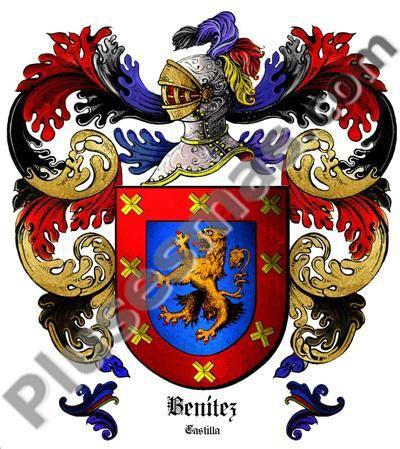Escudo del apellido Benítez