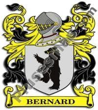 Escudo del apellido Bernard