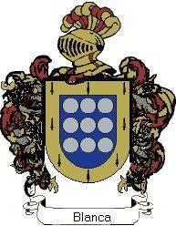 Escudo del apellido Blanca