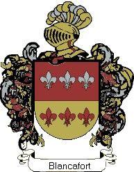 Escudo del apellido Blancafort