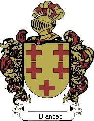 Escudo del apellido Blancas