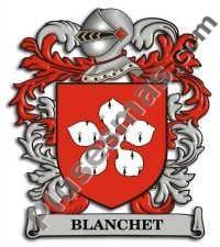 Escudo del apellido Blanchet