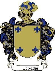 Escudo del apellido Boixader