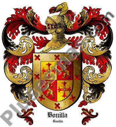 Escudo del apellido Bonilla
