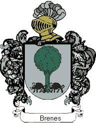 Escudo del apellido Brenes