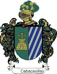 Escudo del apellido Cabacasillas