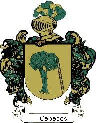 Escudo del apellido Cabaces
